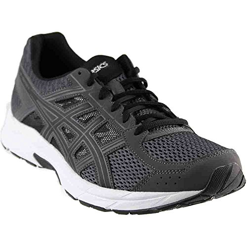 ASICS Men's Gel-Contend 4 Running Shoe, Dark Grey/Black/Carbon, 7 Medium US
