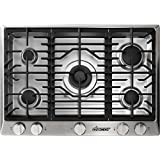Dacor RNCT305GSNG 30' Renaissance Series Gas Sealed Burner Style Cooktop with 5 Burners in Stainless Steel