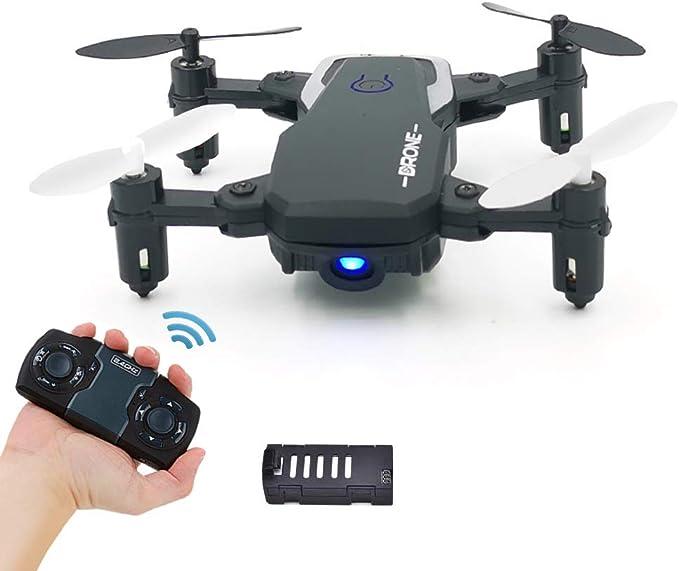 0BEST Juguetes Mini Dron Plegable para Niños, RC Quadcopter por 2.4GHz Control Remot , Control d...