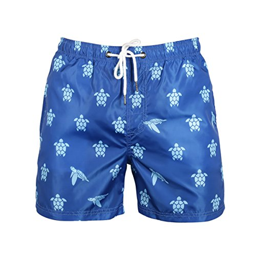 s Quick Dry Slim Fit Bathing Suits Swimming Short with Pockets for Men, Season Clearance ()