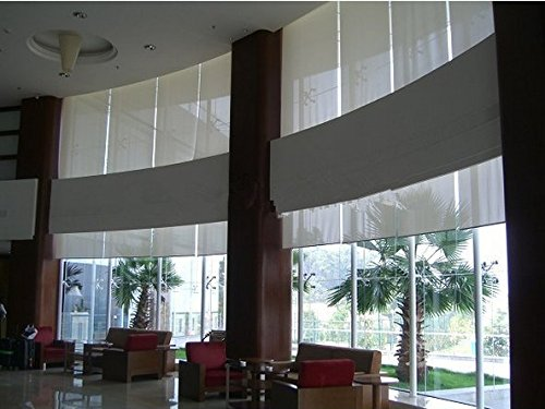 GOWE motorized roller blinds, motorized blinds, electirc blinds,color:230cm wide