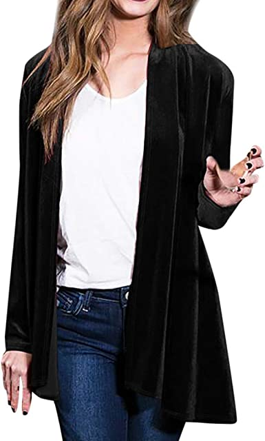 Colourful Womens Splicing Slim Fitted Jacket Open Front Outdoor Coat