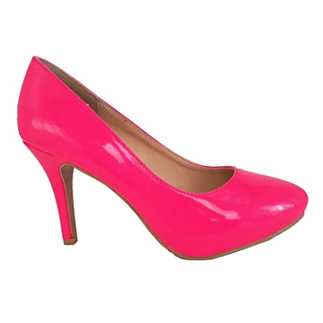 MGD-70 Womens Casual Slip-On Pump HOT PINK WOMEN