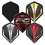 Hardcore Selection Pack Extra Thick Standard Dart Flights & Red Dragon Checkout Card