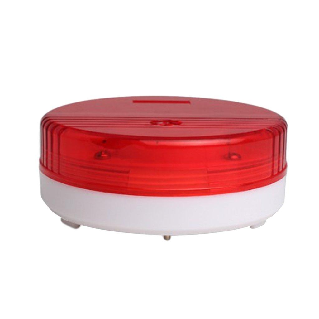 Dovewill 120db Waterproof Water Leakage Alarm Water Sensor Siren Alarm with Flashing LED for Industrial Warehose Workshop Home Kitchen Bathroom Basement