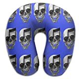 Sugar Skull Super Soft Neck Pillow Removable Cover Memory Foam U-SHAPE Toddler Car Seat Everyone