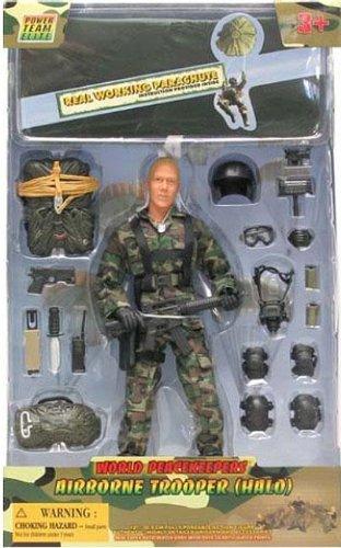 Gardiens de de de la paix mondiale (12 pouces) Airborne Trooper Set (Halo) - celui fourni - Styles Vary dc79e8