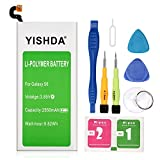 YISHDA Galaxy S6 Battery, 2550mAh Battery EB-BG920ABE Replacement for Samsung Galaxy S6 G920A G920P G920T G920V with Cell Phone Repair Tool Kit| Samsung S6 Spare Battery [18 Month Warranty]
