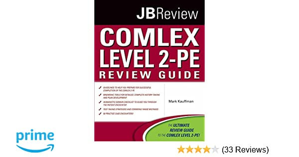 COMLEX Level 2-PE Review Guide (Jbreview): 9780763776541