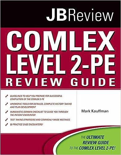 COMLEX Level 2-PE Review Guide (Jbreview): 9780763776541: Medicine