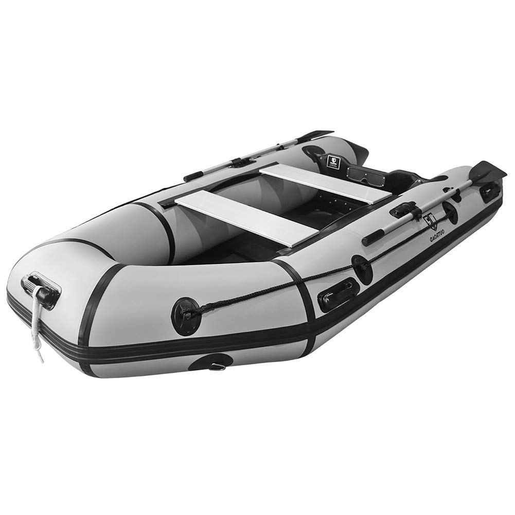 Outroad Inflatable Dinghy Fishing Boat 10 FT - Best Flying Fishing Boats