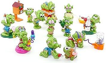 4 Überraschungsei Figuren Super Spacys deutsch Aliens