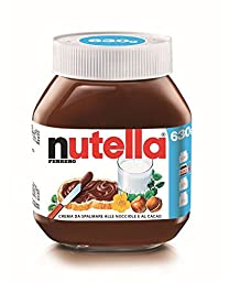 Nutella Ferrero Chocolate Hazelnut Spread Imported from Italy - 22.22 oz