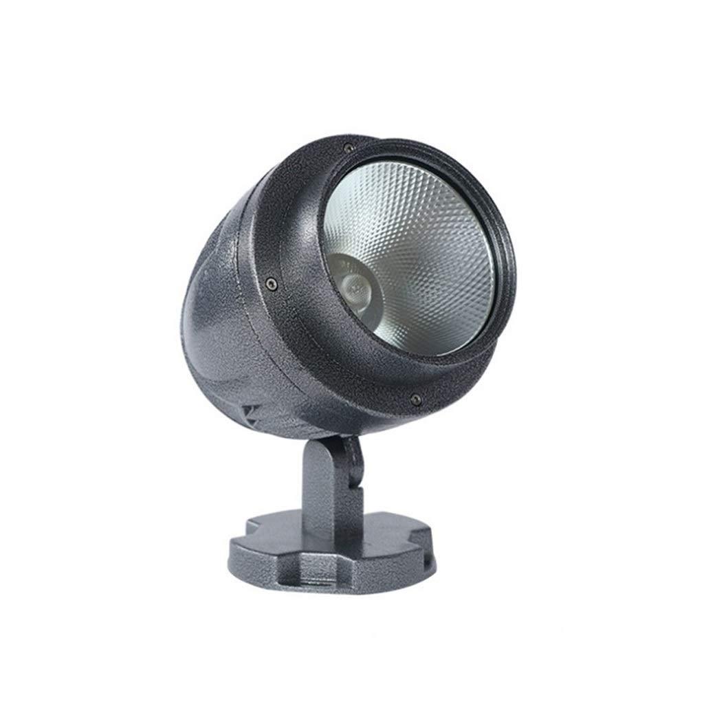 LED Paesaggio Faretti, Proiettore Sicurezza Prato Sfondo Il Giro Alluminio Terrazza Le Scale (colore   rosso light-15W)