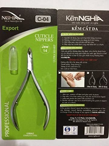 nghia cuticle nippers C-04 jaw14 by Thorlight