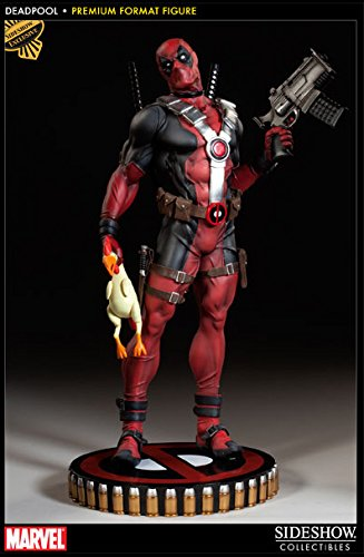 - Marvel Deadpool Premium Format 1/4 Scale Statue Sideshow EXCLUSIVE