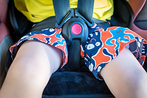 Piddle Pad Car Seat Protector by Silverflye- Crash Test Safety Certified- Waterproof Liner- Potty Training Seat Saver Pads for Infants Baby and Toddlers- Leak Free Technology- Machine Wash and Dry by Silverflye (Image #5)