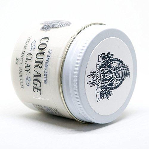 Anchors Hair Company Courage Clay - Natural Vegan Hair Clay (2.3 Oz) by Anchors Aweigh (Image #2)