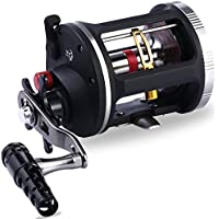One Bass Fishing Reels Level Wind Trolling Reel...