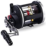 Cheap One Bass Fishing Reels Level Wind Trolling Reel Conventional Jigging Reel for Saltwater Big Game Fishing