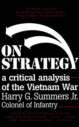 Amazon on strategy a critical analysis of the vietnam war print fandeluxe Gallery