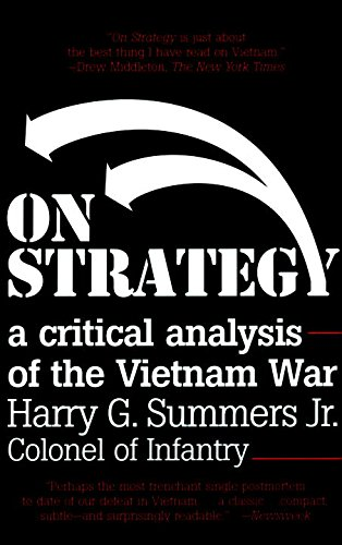 Amazon on strategy a critical analysis of the vietnam war on strategy a critical analysis of the vietnam war by summers harry g fandeluxe Gallery