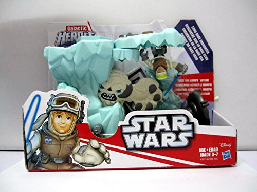 Star Wars Galactic Heroes Luke & Wampa Snow Beast Echo Base Encounter Set