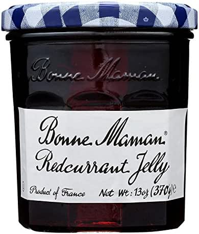 Bonne Maman Red Currant Jelly, 13-Ounce Glass (Pack of 3)
