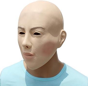 LIZHIOO Máscara Realista Disfraz de Halloween Femenino Accesorios ...