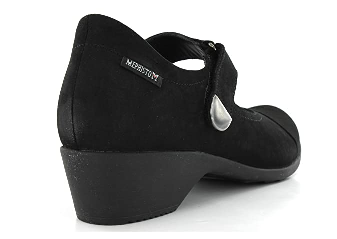 d0ab6b043a Mephisto Reine Black Mephisto Ladies Casual Mary Jane Shoe 7 UK:  Amazon.co.uk: Shoes & Bags