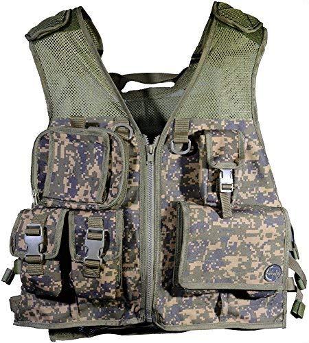 Tippmann Pro Tactical Vest - Holds 4 + 2 Pods + - Tippmann Gear