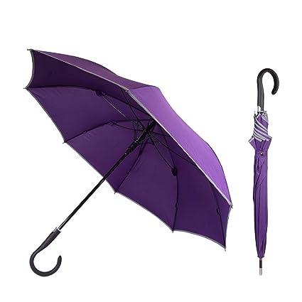 mit gratis Videokurs Verbessert Ihre Verteidigungsf/ähigkeit sofort Unzerbrechlicher Security Regenschirm f/ür Frauen Sicherheitsschirm Kein langwieriges Training erforderlich