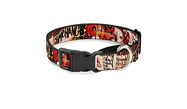 Buckle Down Cuello de Perro Martingale con diseño de Deadpool ...
