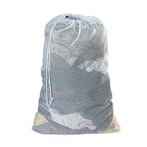 1 x mesh laundry bag home kitchen - X laundry bags ...