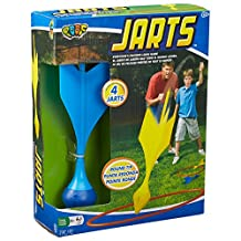 POOF Jarts Dart Target Lawn Game with Safe Round Tips
