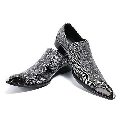 2018 Evening Party Shoes Hairstylist A Fashion Men's Leather Temperament New Oxfords Shoes Tide Stage HUAN Wedding amp; fqwE7Svx5