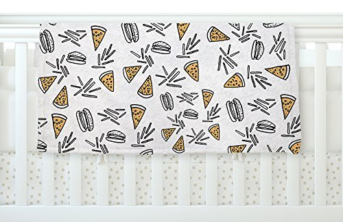 KESS InHouse Vasare Nar Burgers & Pizza Food Fleece Baby Blanket 40 x 30 [並行輸入品]   B077ZQZGXQ
