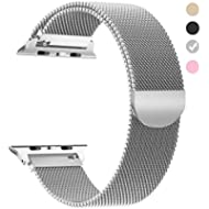 Penom Compatible with Apple Watch Band 44mm 40mm 42mm 38mm, iWatch Bands Milanese Loop...