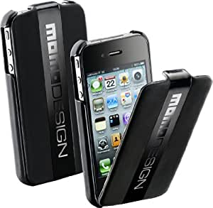 Cellular Line Momo - Funda para Apple iPhone 4/4S, negro