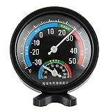 iUnisy Round Reptile Aquarium Tank Thermometer Hygrometer Incubator Temp Humidity Measure