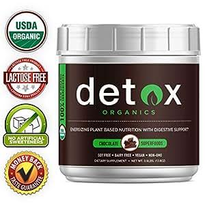 Amazon.com: Detox Organics - Polvo superalimentario para ...