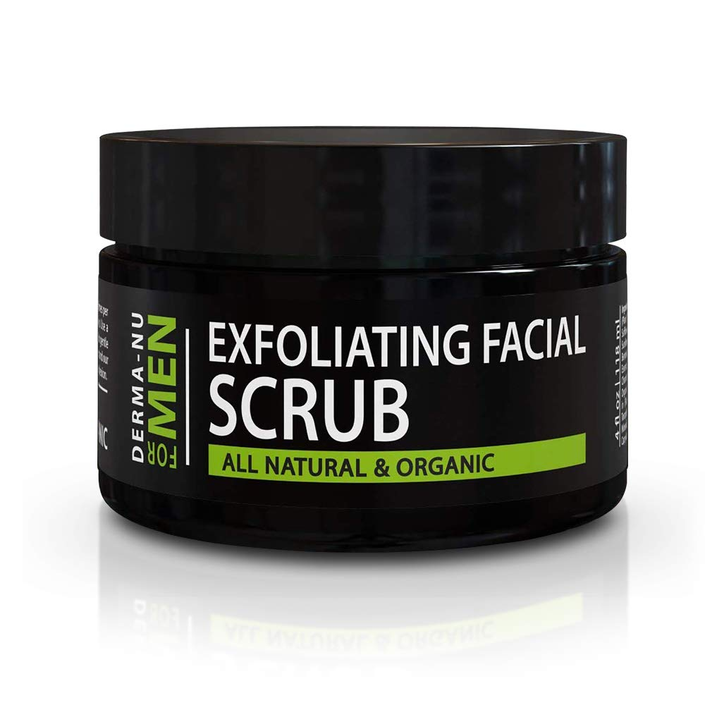 Amazon Com Exfoliating Mens Natural Face Scrub Organic For