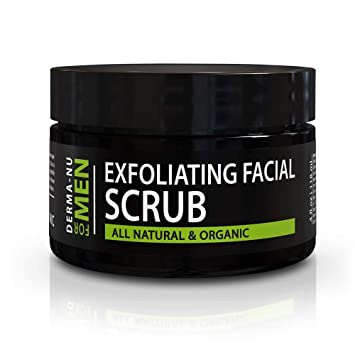 Amazon Com Exfoliating Mens Natural Face Scrub Organic For