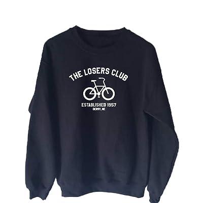 yssgtt The Losers Club Letters - Sudadera de Ciclismo para Mujer con Capucha gráfica de Manga Larga y Corte Informal: Ropa y accesorios