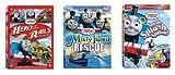 3 Thomas DVD Combination Pack- Misty Island Rescue & Splish, Splash, Splosh & Hero of the Rails