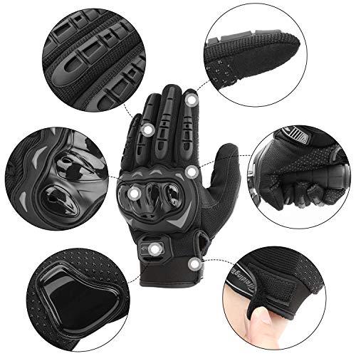 COFIT Gants de Moto, Gants à Écran Tactile Plein Doigt pour la Course de Moto, VTT, Escalade, Chasse, Motocross et… 2