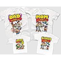Toy Story Birthday Shirts, Custom Birthday Shirts, Family Birthday Party Shirts, Toy Story themed Birthday Party