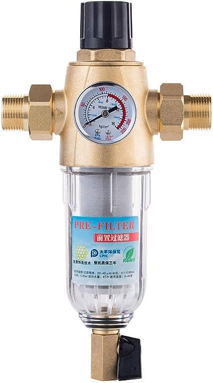 Zixin Filtro sifónico Agua de Lavado Pre-Filtro de presión ...