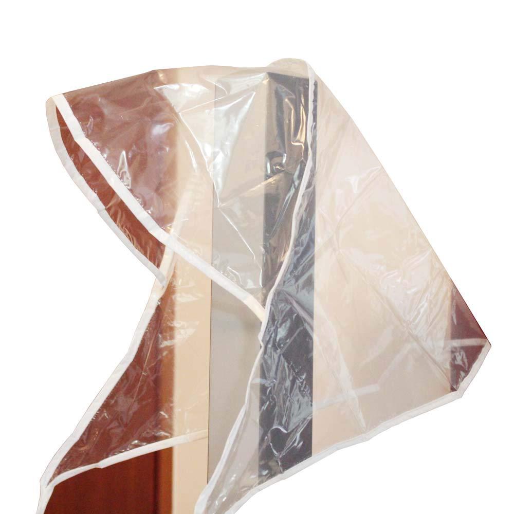 KaLaiXing brand Reusable Plastic Rain Hat Cap Bonnet w/Visor For Lady Style Ranodom