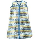 HALO SleepSack 100% Cotton Wearable Blanket, Print Boy, Small